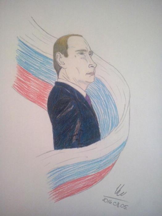 Vladimir Putin by Vanus94